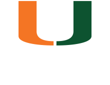 University of Miami Split U logo