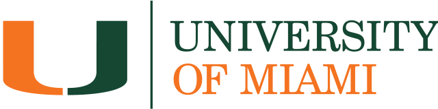 University of Miami Print Logo